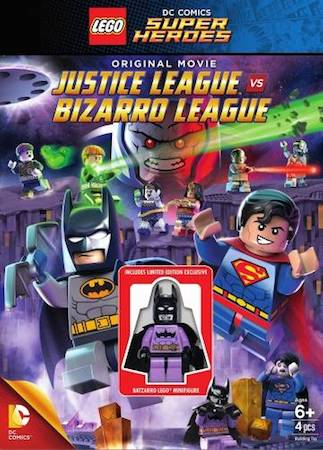 LEGO супергерои DC: Лига справедливости против Лиги Бизарро (2015)