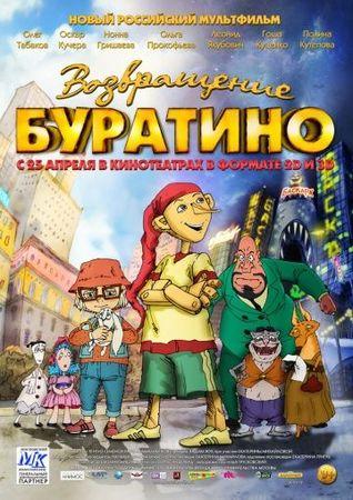 Возвращение Буратино (2013)