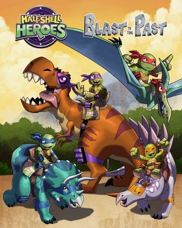 Half-Shell Heroes: Blast to the Past (2015)
