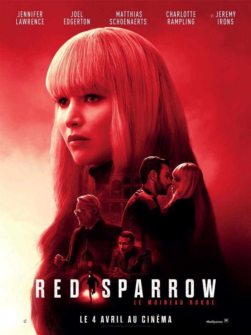 Красный воробей (2018)