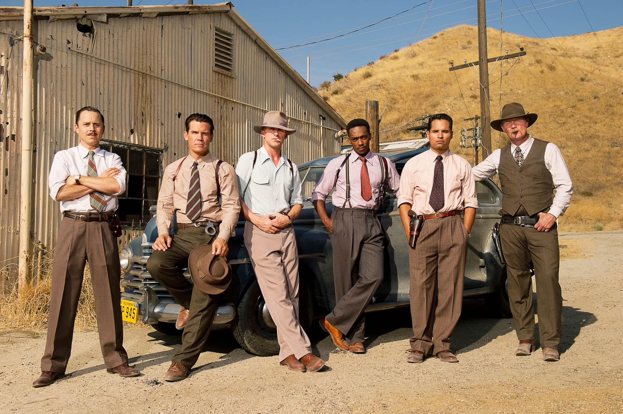 Охотники на гангстеров (2013)