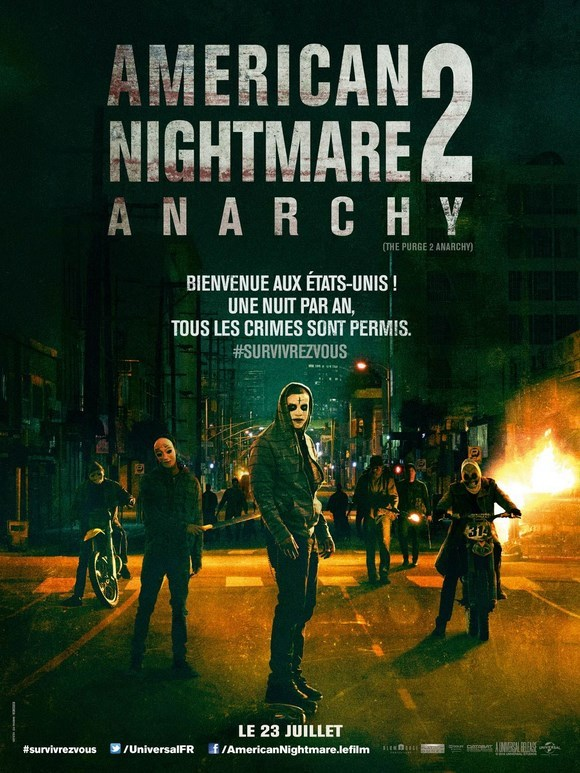 Судная ночь 2: Анархия (2014)